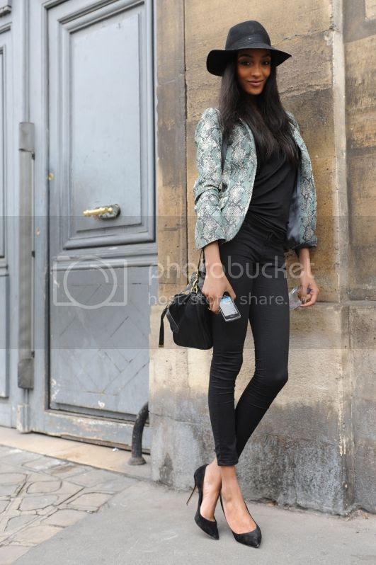 Jourdan Dunn Street Style August 2013