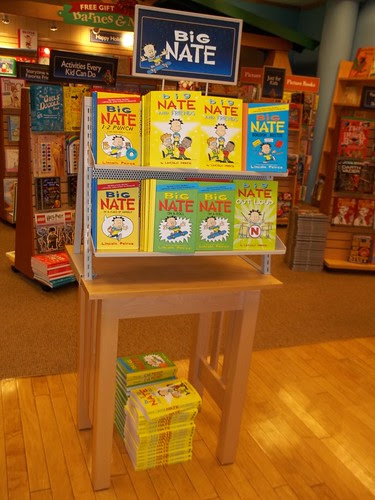101_2959 Big Nate display at Barnes and Noble