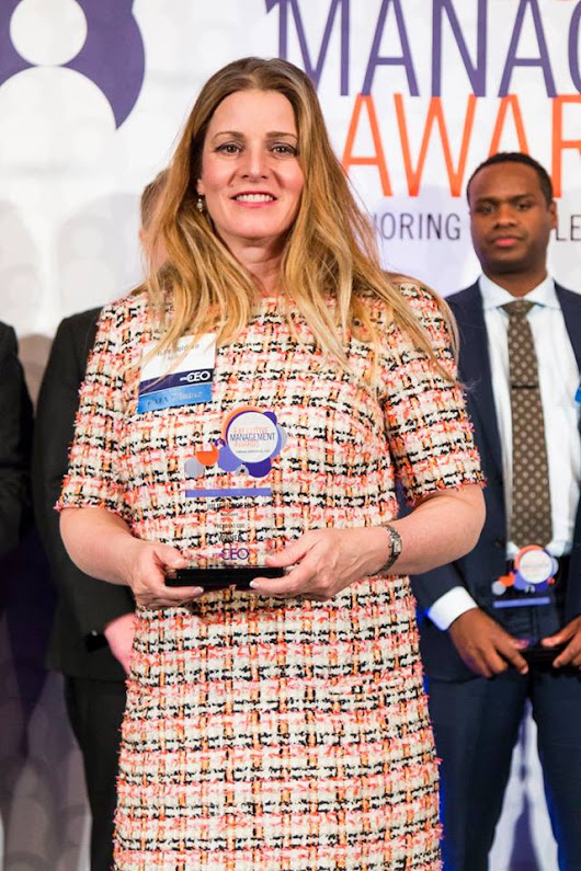 SmartCEO Honored Greater Washington's Top Executives, including Julie Holdren of KoolSpan, at the 2017 Executive Management Awards - Koolspan