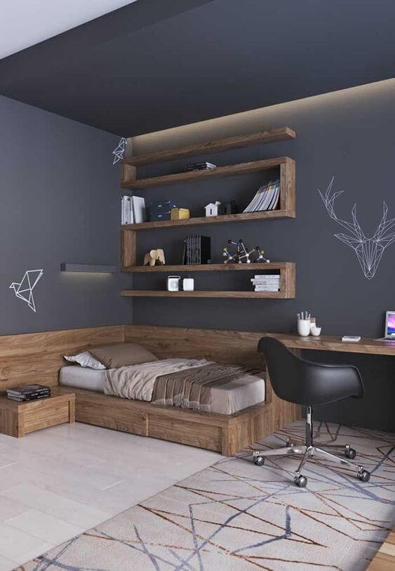 Desain Kamar Tidur Biasa Minimalis
