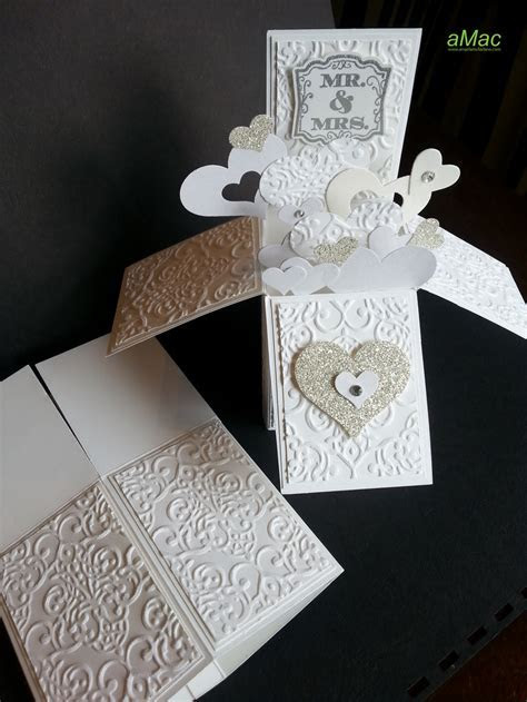 Wedding Card in a box   aMac
