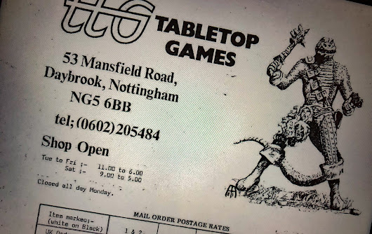 Tabletop Games Catalogue