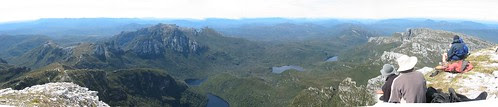 Panorama East from Frenchmans Cap