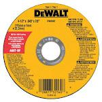 DeWalt DWT-DW8062 4.5 In. X.045 In. X 7 8 In. High Performance Metal Cutting Wheel