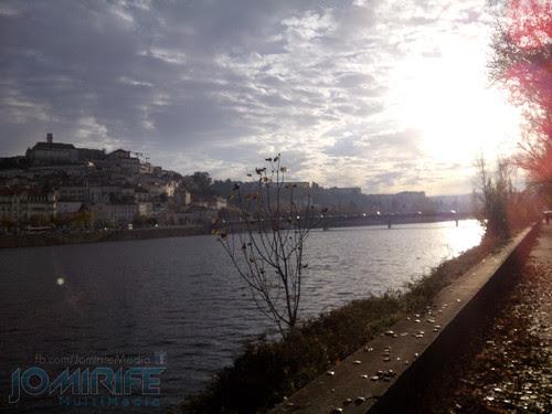 Nascer do dia em Coimbra junto ao rio Mondego [en] Dawn in Coimbra near the Mondego river