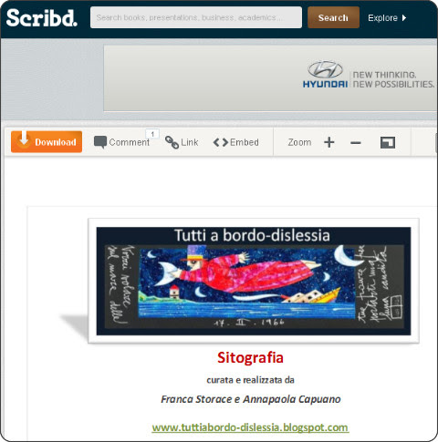 http://www.scribd.com/doc/95754183/Sitografia-Dislessia-e-DSA-Storace-Capuano-Tuttiabordo-Dislessia