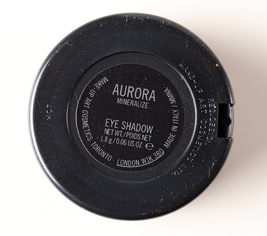 MAC Aurora Mineralize Eyeshadow
