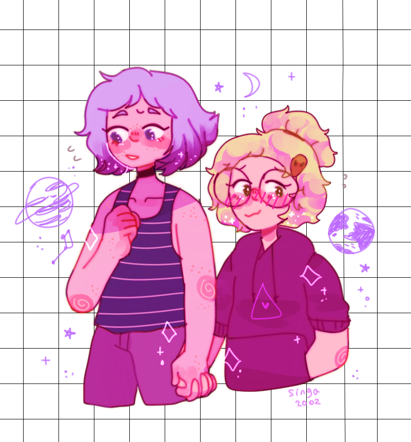 local kiddos hold hands ♥