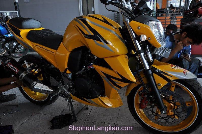 Motor Yamaha Byson Modifikasi