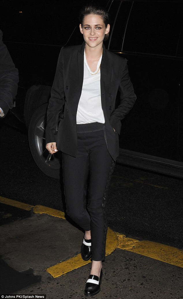 Kristen Stewart casual after promotional appearance for ...