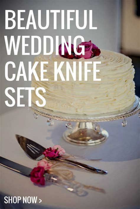 Looking for a beautiful wedding cake knife set to cut the