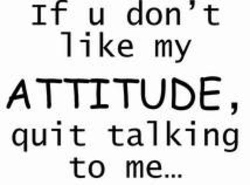 If U Dont Like My Attitudequit Talking To Me Attitude Quote