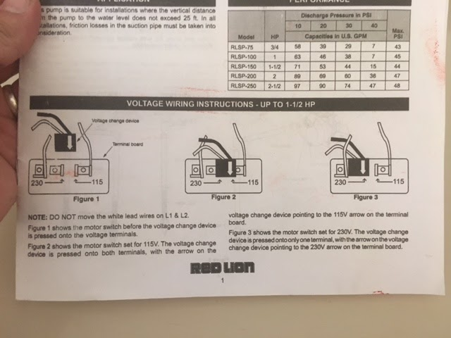 33 Red Lion Pump Wiring Diagram