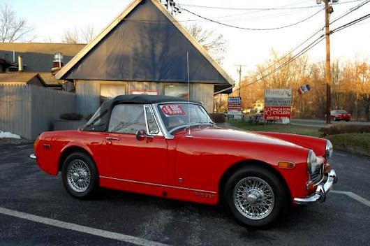 Used 1972 MG Midget for Sale in Red Hook NY 12571 Hudson Valley Motorcar