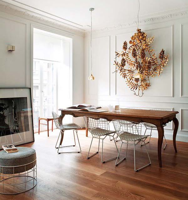 10 Stylish Bertoia Chair Dining Room