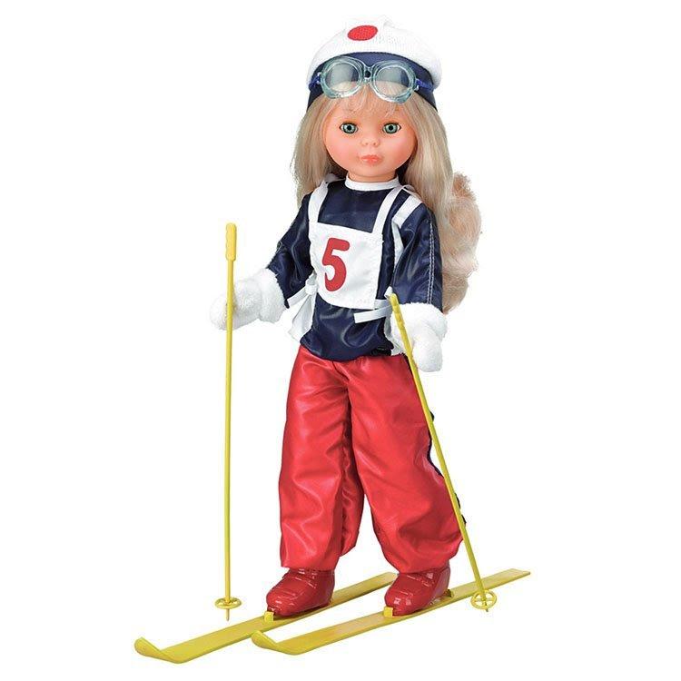 Foto Nancy colección yo quise ser esquiadora reedición 2014