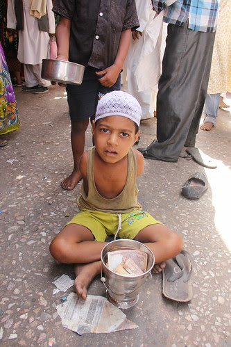 The Beggar Boy Without Hands by firoze shakir photographerno1