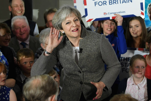 Theresa May accused of 'hiding' after election event publicly listed as child's party