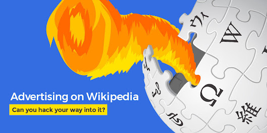 Advertising on Wikipedia: Will it ever exist? Can you hack your way into it?