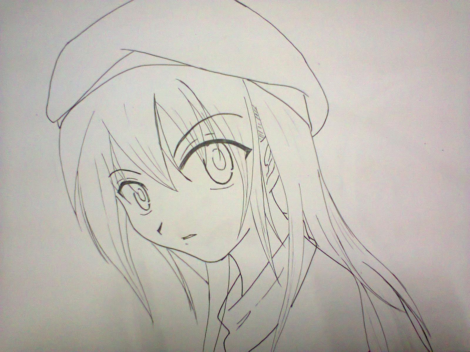 Gambar Sketsa Komik Anime
