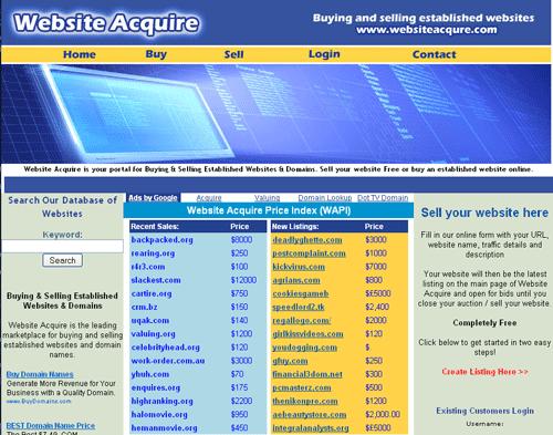 menjual web atau blog