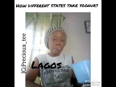 (comedy skit) how different states take yoghurt  by Precioux_Tee