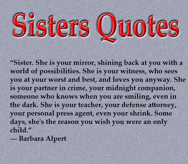 Sisters Quotes  365greetings.com