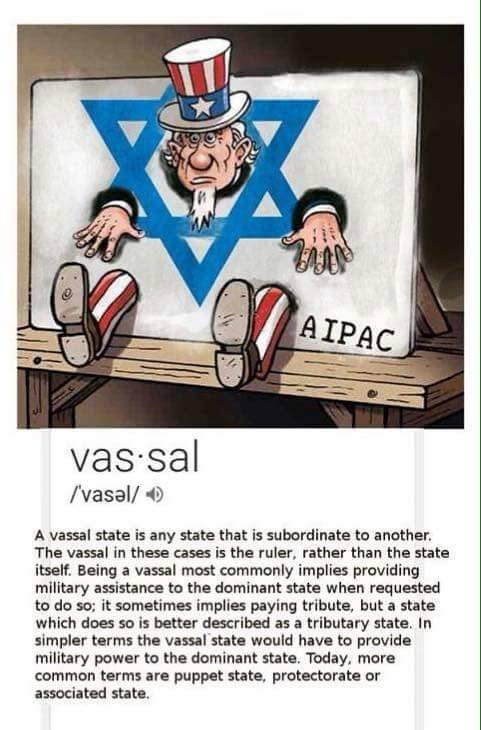The US is Just a Vassal State for Israel — Steemit
