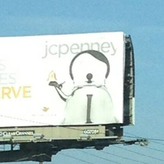 Does This JCPenney Teapot Look Like Hitler?