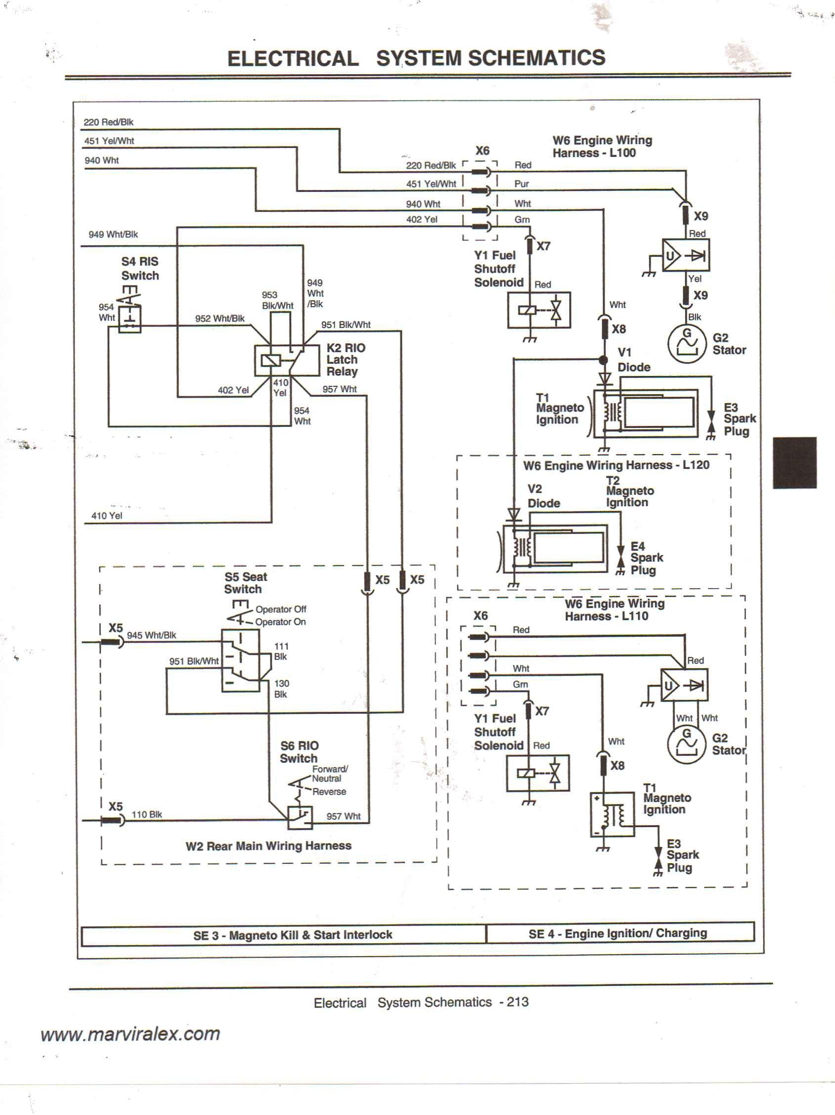 John Deere Gator Starter Wiring Diagram : deere, gator, starter, wiring, diagram, Deere, Gator, Kawasaki, Engine, Wiring, Diagram