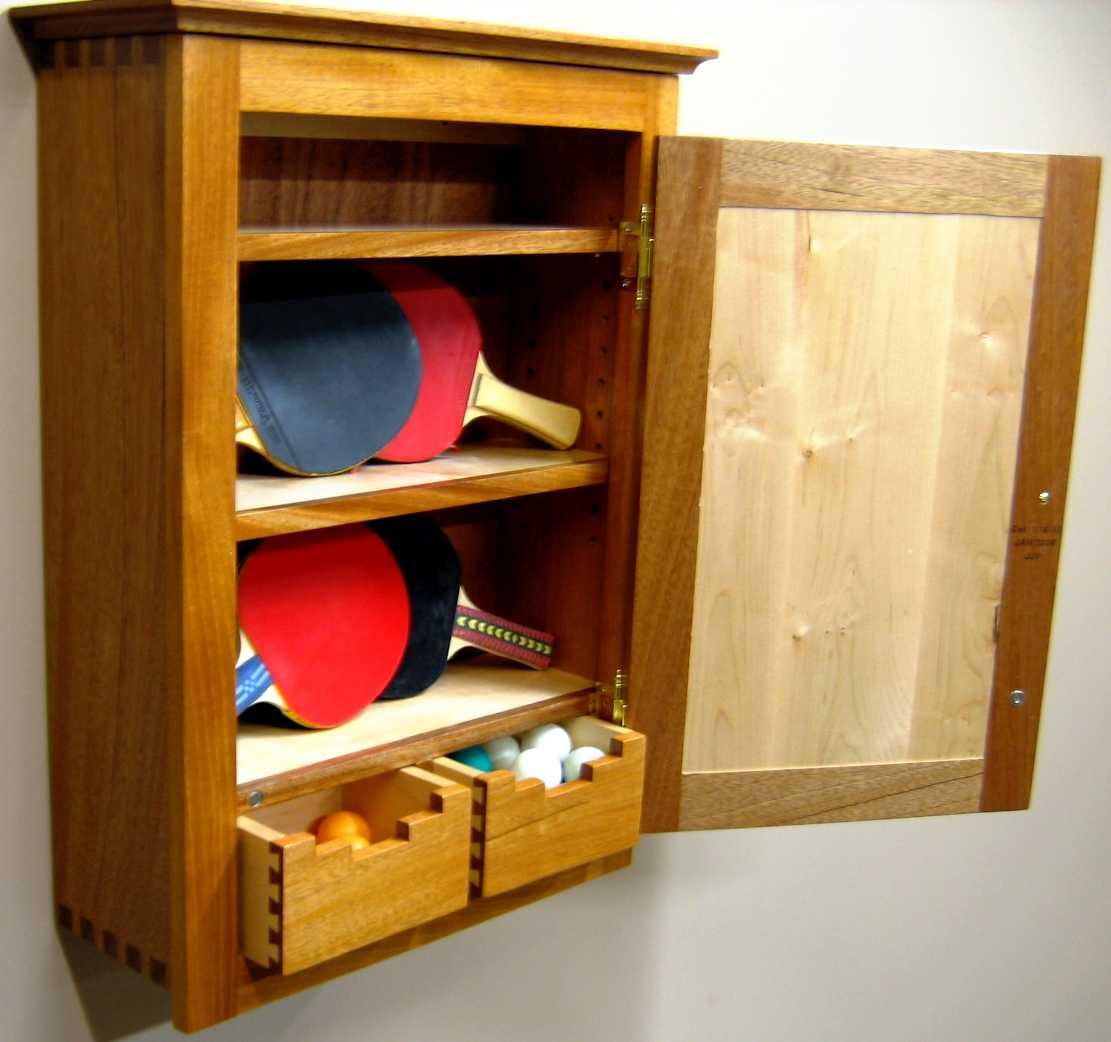 Small Wood Bathroom Cabinet
