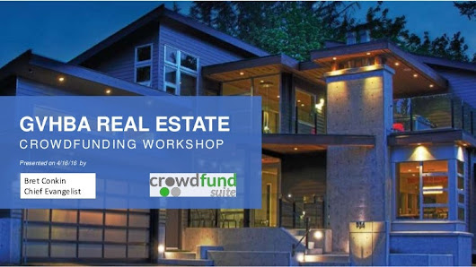 Real Estate Crowdfunding Workshop - Crowdvundsuite