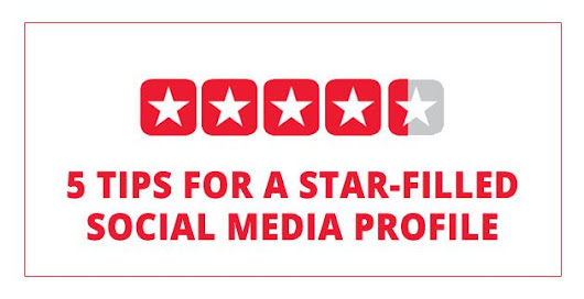 5 tips for a Star-Filled Social Media Profile