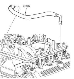 Wiring Diagram Database: 2003 Ford Expedition Vacuum Hose