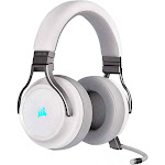 CORSAIR Gaming VIRTUOSO RGB Wireless Over-Ear Headset - Omni-Directional - White