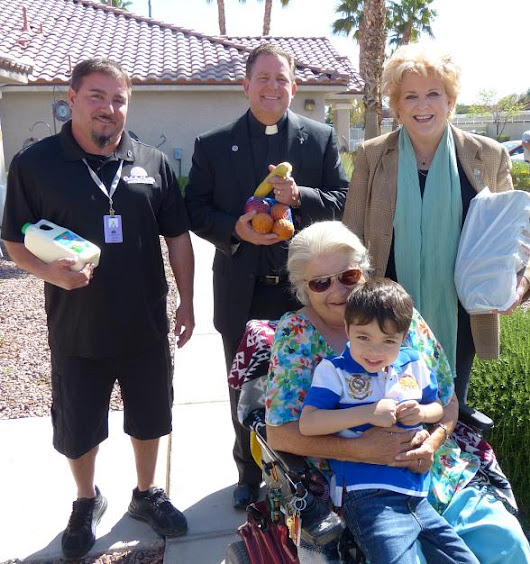 Clark County Awards Nearly $2.5 Million in Grant Money to Catholic Charities of Southern Nevada to Expand Food Pantry and Meals on Wheels Programs