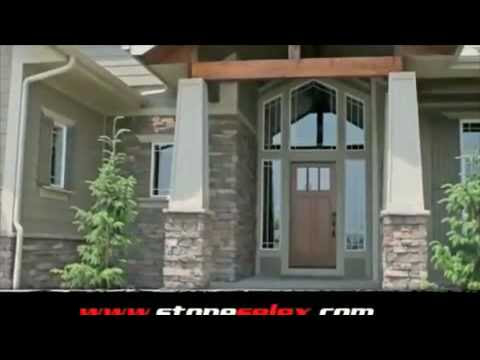 Exterior Stone Siding  Stone Wall Designs by Stone Selex  Toronto Ottawa Hamilton London.mp4