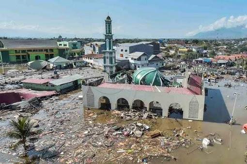 Palu Sulawesi Indonesia Earthquake and Tsunami