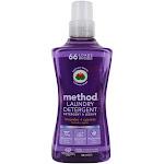 Method Naturally Derived 3In1 Laundry Detergent 66 Loads Lavender Cypress 53.5 fl oz