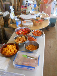 Orange Day Food