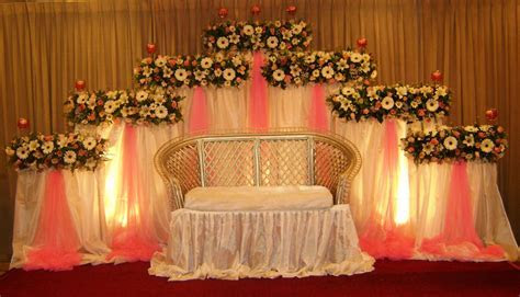 Vismaya: Wedding Settee backs