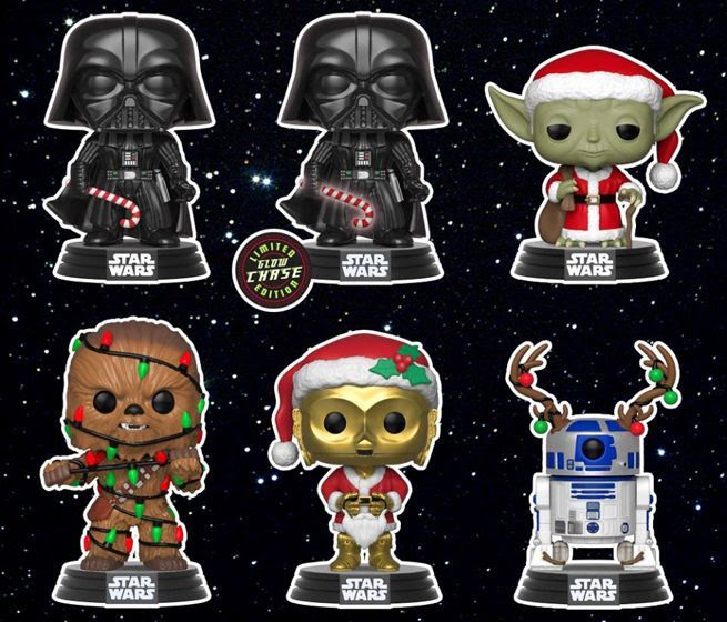 Where to Buy the Star Wars Holiday Funko Pops | Anakin and His Angel