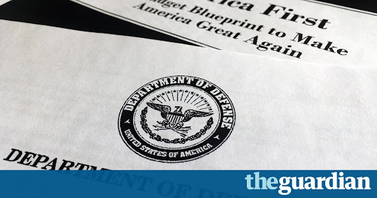 The Pentagon has never been audited. That's astonishing | Thomas Hedges | Opinion | The Guardian