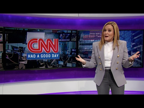 "Samantha Bee Give Kuddos To CNN Where It's Not Deserved (They Are Only Attacking Trump Because It's Increasing Their Ratings. It's The New ""Trump Effect"", As The Daily Show Points Out)"