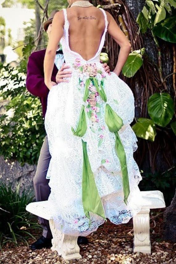 Eco-bridal Amanda Rose Wedding CUSTOM