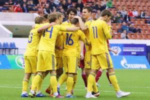 Украинская молодежка обыграла латвийцев