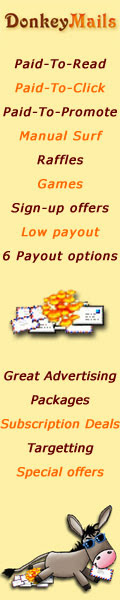 DonkeyMails.com: No Minimum Payout