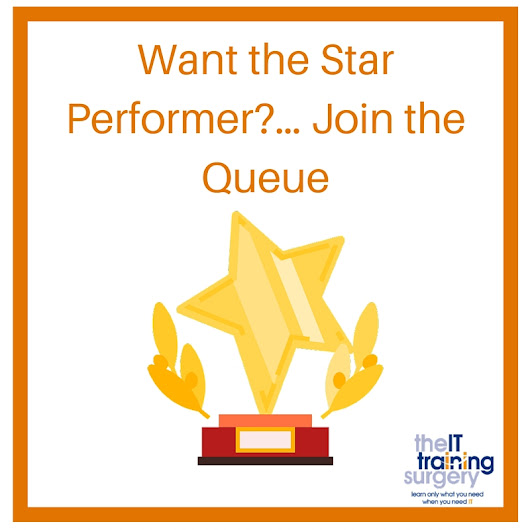 Want the Star Performer?… Join the Queue - The IT Training Surgery