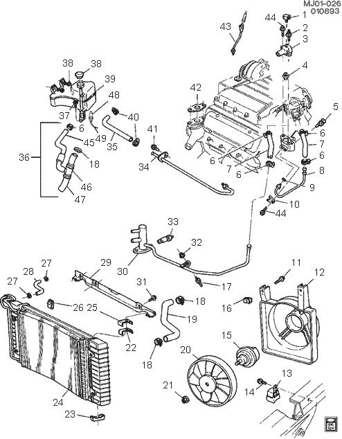 Pontiac G5 Engine Diagram