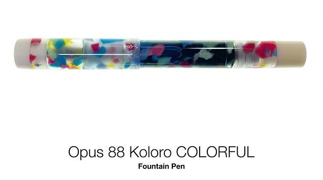 Gourmet Pens: GourmetPens GOAT Pen Opus 88 Koloro COLORFUL ...